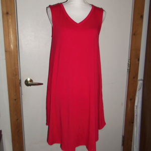 Zenana Outfitters Tank Dress With Pockets M